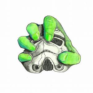 Hulk Trooper Drawing by John Bainter