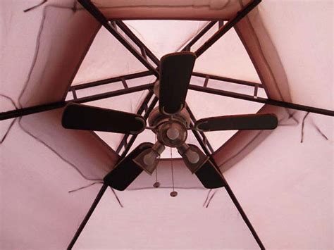 outdoor gazebo fans gazebo ceiling fan lighting and ceiling fans