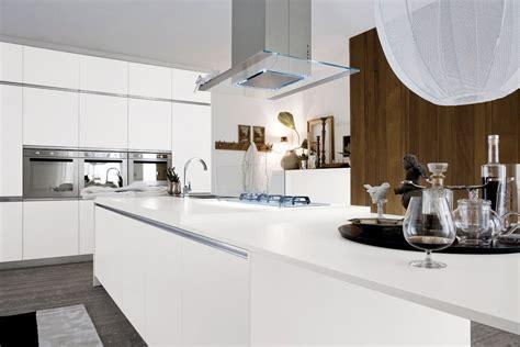 cuisine design blanche cuisine aménagée blanche