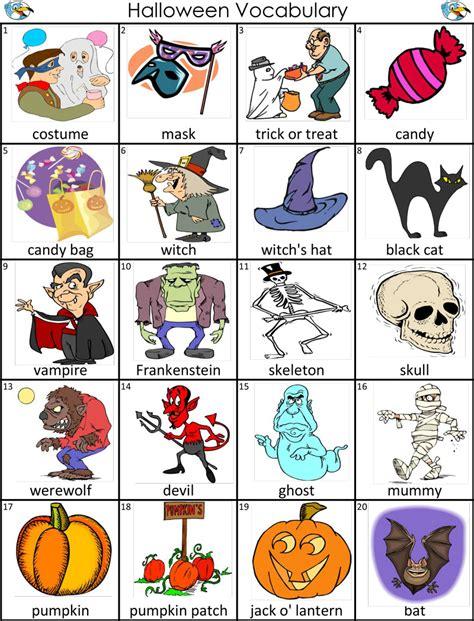 English Joins Us! Halloween Vocabulary