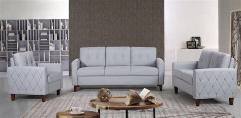 pride furniture kartier mid century linen fabric