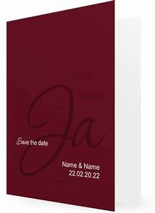 Save The Date Postkarten : save the date postkarten u klappkarten rot ~ Watch28wear.com Haus und Dekorationen