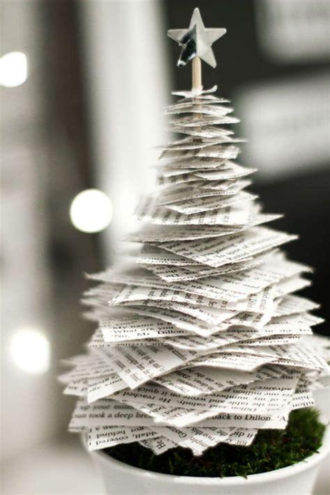 mini weihnachtsbaum basteln tannenbaum basteln 30 kreative diy ideen f 252 r weihnachtsbasteln