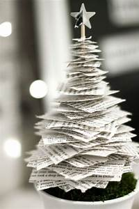 Weihnachtsbäume Aus Papier Basteln : tannenbaum basteln 30 kreative diy ideen f r weihnachtsbasteln ~ Orissabook.com Haus und Dekorationen