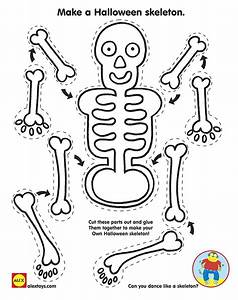 halloween printables alexbrandscom With skeleton template to cut out