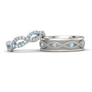 matching wedding bands for him and matching wedding bands gemvara