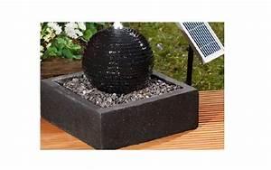 23320920180220 brunnen granit solar inspiration schoner With französischer balkon mit garten solarleuchten kugel