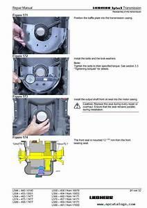 Liebherr L544 L554 L564 L574 Zf Wheel Loader Pdf Manuals