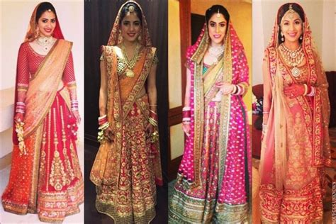 How To Drape A Lehenga - try out these beautiful styles of carrying your dupatta