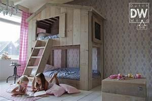 Cabane Lit Enfant : lit cabane enfant de la marque dutchwood abitare kids ~ Melissatoandfro.com Idées de Décoration