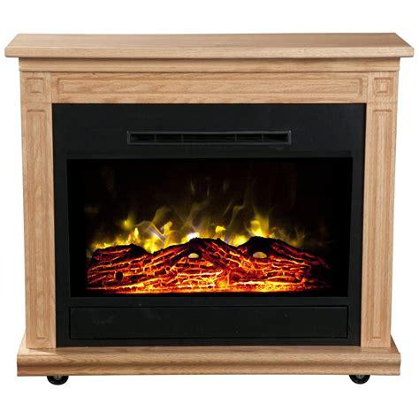 heat surge electric fireplace heat surge roll n glow electric fireplace light oak