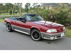 93 Gt Convertible 5.0 V8 Pony Fox Manual 5 Spd Quick Fast No Mods Lx 93 92 90 - Used Ford ...