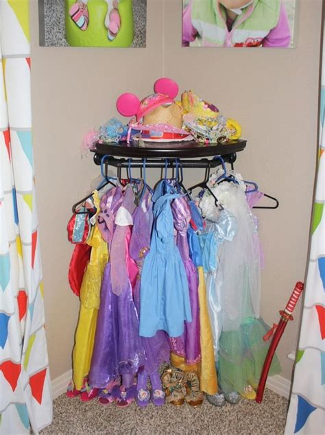 dress up diy do it yourself storage play room clothes