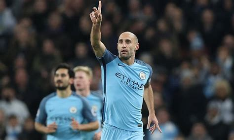 Man City news: Pablo Zabaleta scores first club goal in ...