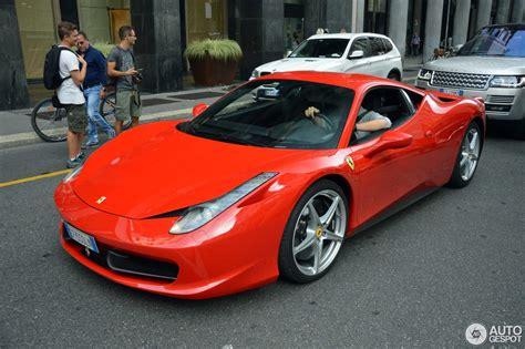 Ferrari 458 Italia  7 October 2016 Autogespot