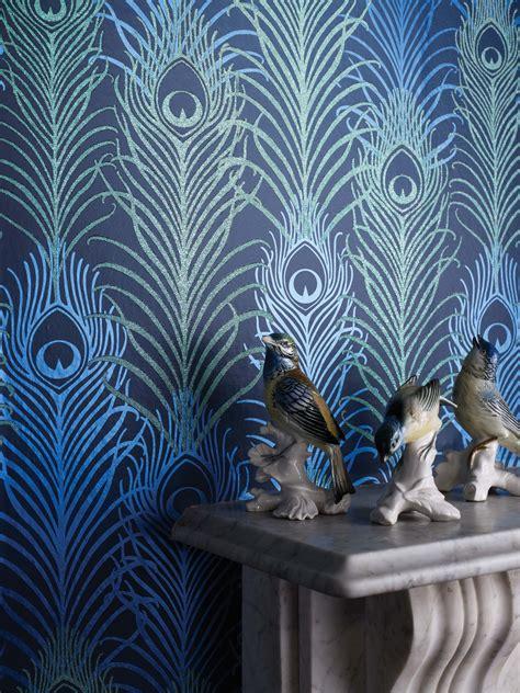 matthew williamson peacock wallpaper