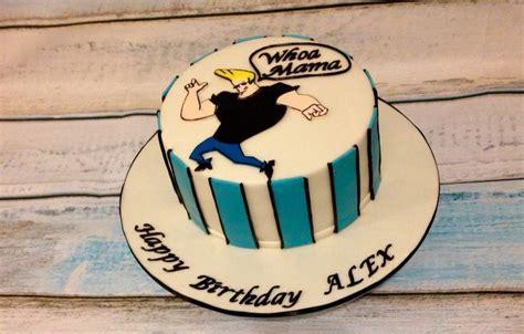 johnny bravo birthday cake birthdays pinterest