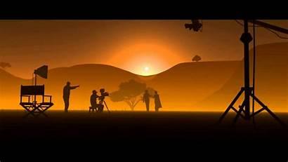 Cinema Filmmaking Wallpapers Shooting Film Tv Animation