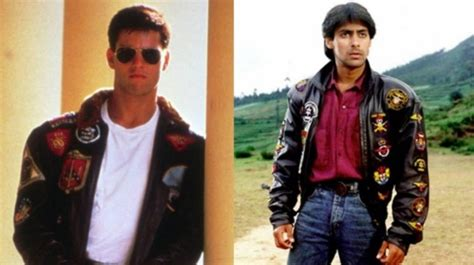 tuesday trivia tom cruise  top gun inspired salman khan