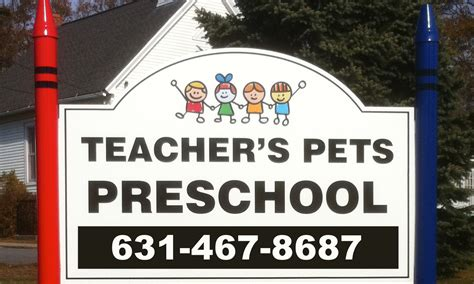 farmingville preschool teachers pets preschool official 747   teachersPetsSign cropped
