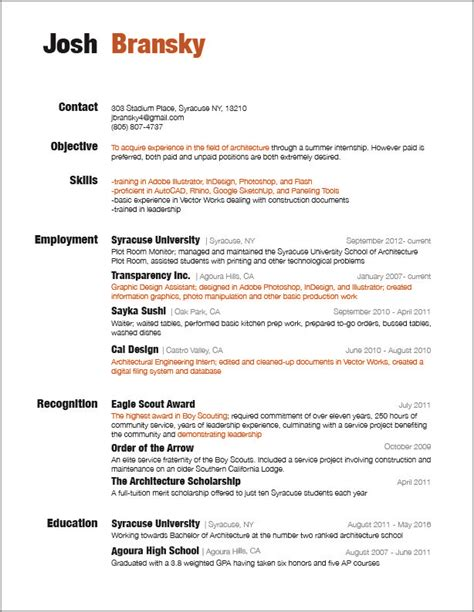 resume for rooms to go