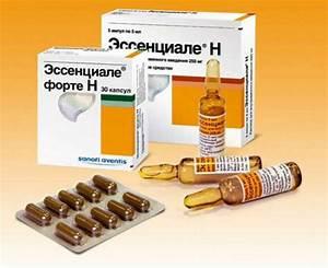 Доступные препараты для лечения печени
