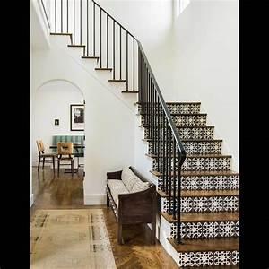 Contre Marche Deco : comment d corer un escalier de co pinterest maison escaliers interieur et d coration maison ~ Dallasstarsshop.com Idées de Décoration