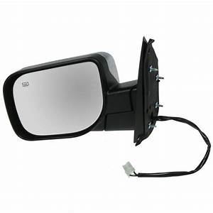 Power Heated Chrome Door Mirror Lh Left Driver Side For