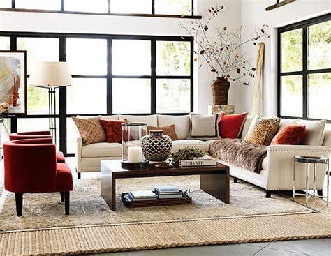 napa living room decor williams sonoma