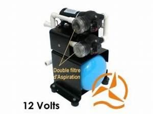 Pompe Avec Surpresseur : groupe pompes surpresseur avec r servoir 12 volts 34 l min ~ Premium-room.com Idées de Décoration