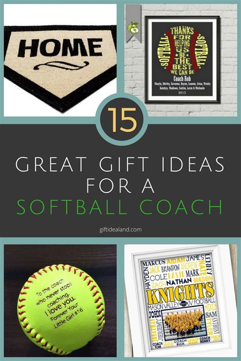 Softball Coaches Gifts   Gift Ftempo