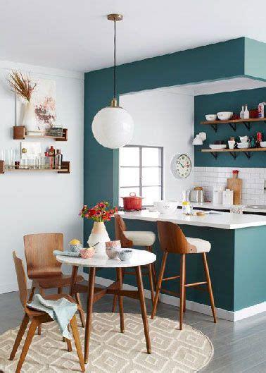 amenagement cuisine espace reduit aménagement cuisine ouverte sur salon amenagement