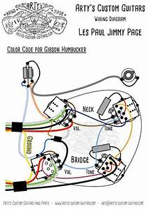 Les Paul Jimmy Page Style Wiring Harness Mit Bumblebee
