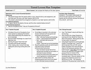differentiated instruction template related keywords With lesson plan template for differentiated instruction