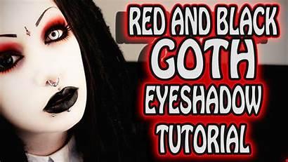 Goth Makeup Eye Tears Tutorial Toxic Gothic