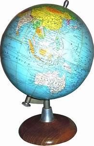 Globe Terrestre Carton : mappe monde globe terrestre retro cosy ~ Teatrodelosmanantiales.com Idées de Décoration