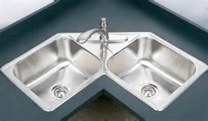 Double Bowl Corner Sink by Houzer Legend Series Corner Double Bowl Sink Lcr 3221 1