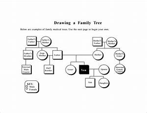 Family Tree Diagram Template  U2013 9  Free Sample  Example