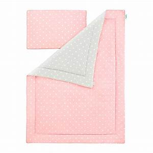 Parure De Lit Rose Et Gris : parure de lit rose pois ~ Melissatoandfro.com Idées de Décoration