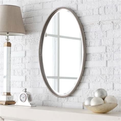 bathroom wall mirror ideas master bathroom mirror ideas oval brown wooden frame wall