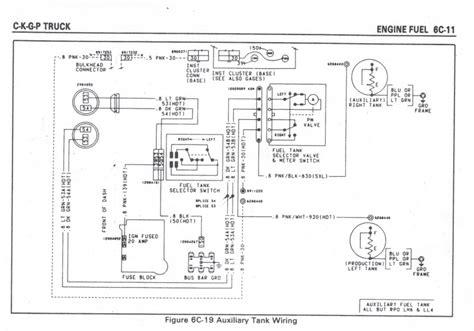 Chevy Truck Fuel Gauge Wiring Diagram Sending Unit