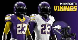 Redesigned uniforms for all 32 NFL teams in 2018