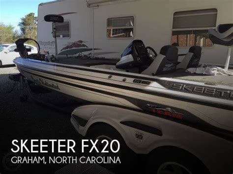 Boats For Sale Graham Nc by Sold Skeeter Fx20 Boat In Graham Nc 109970