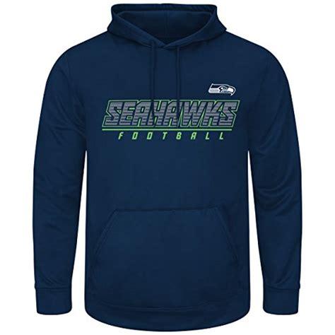 seattle seahawks majestic nfl punt return hooded therma