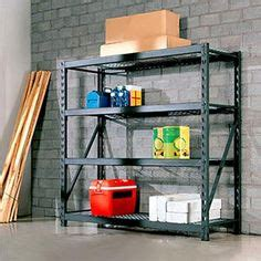 costco heavy duty shelving 1000 images about garage organization on 14104