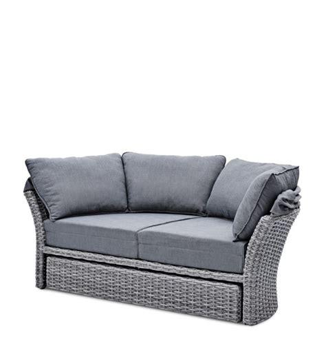 rattan lounge grau sonneninsel polyrattan grau im greenbop shop kaufen