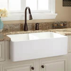 white fireclay farmhouse sink 33 quot baldwin double bowl fireclay farmhouse sink smooth