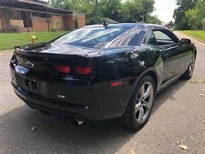 5th Gen Black 2012 Chevrolet Camaro 2ss V8 Manual For Sale