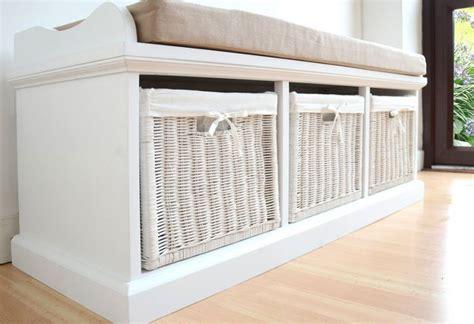 Statement Furniture   Tetbury White Bench with Seat
