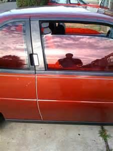 Red Car Window Tint